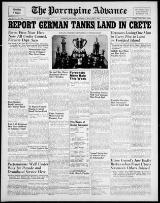 Porcupine Advance, 26 May 1941