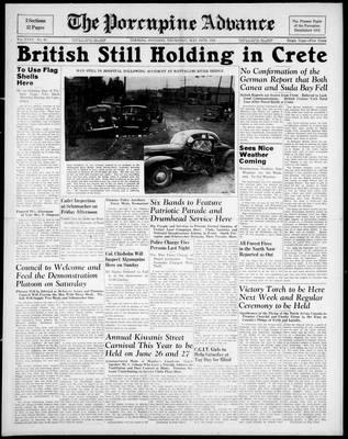 Porcupine Advance, 29 May 1941