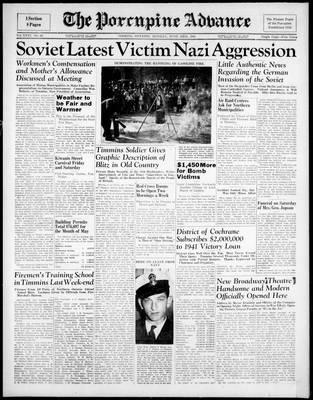 Porcupine Advance, 23 Jun 1941
