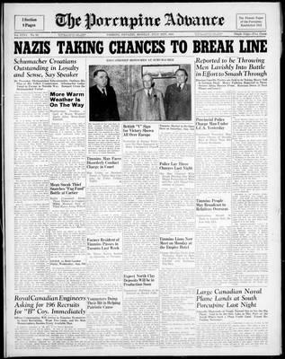 Porcupine Advance, 21 Jul 1941