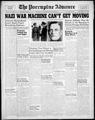 Porcupine Advance, 28 Jul 1941