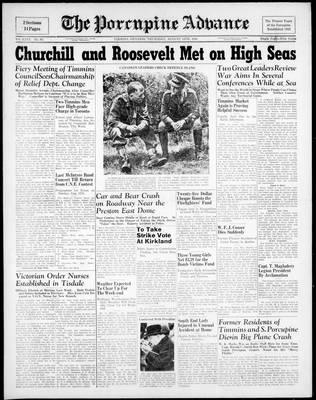 Porcupine Advance, 14 Aug 1941
