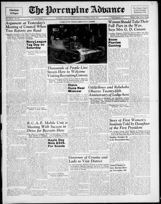 Porcupine Advance, 16 Oct 1941