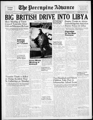 Porcupine Advance, 20 Nov 1941