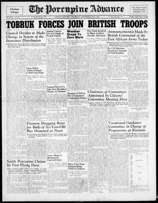 Porcupine Advance, 27 Nov 1941