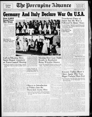 Porcupine Advance, 11 Dec 1941