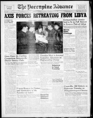 Porcupine Advance, 18 Dec 1941