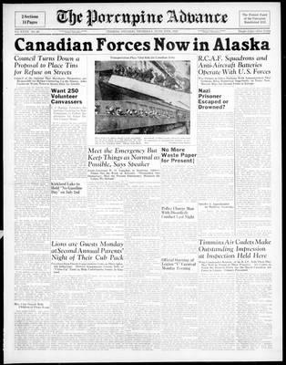Porcupine Advance, 18 Jun 1942