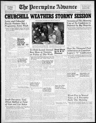 Porcupine Advance, 2 Jul 1942