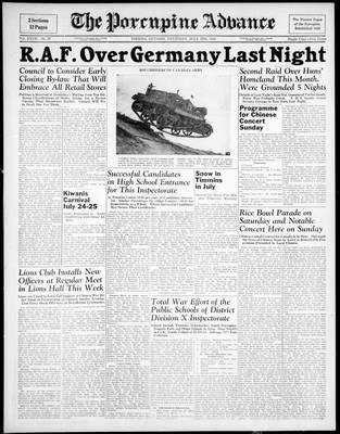 Porcupine Advance, 9 Jul 1942