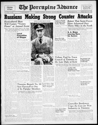 Porcupine Advance, 27 Aug 1942