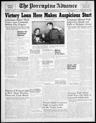 Porcupine Advance, 22 Oct 1942