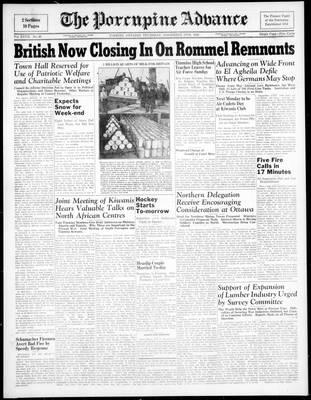 Porcupine Advance, 19 Nov 1942