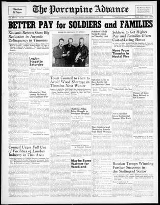 Porcupine Advance, 17 Dec 1942