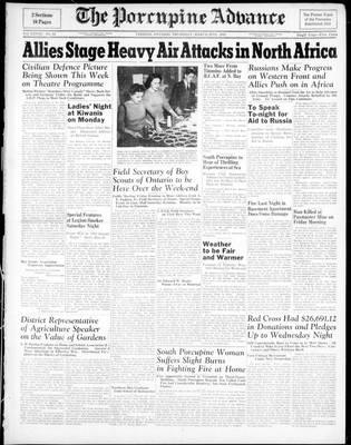 Porcupine Advance, 25 Mar 1943