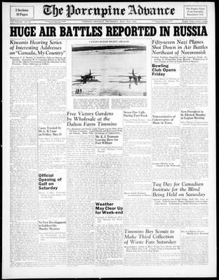 Porcupine Advance, 27 May 1943