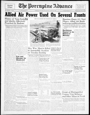 Porcupine Advance, 3 Jun 1943