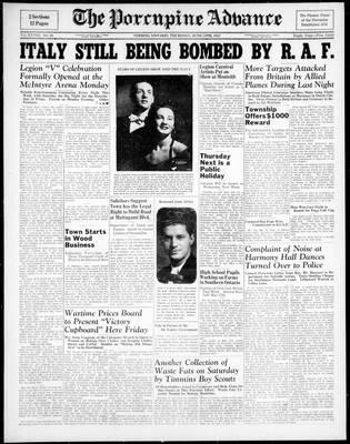 Porcupine Advance, 24 Jun 1943
