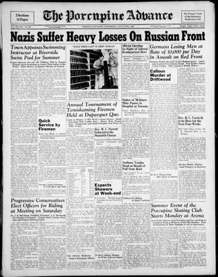 Porcupine Advance, 8 Jul 1943