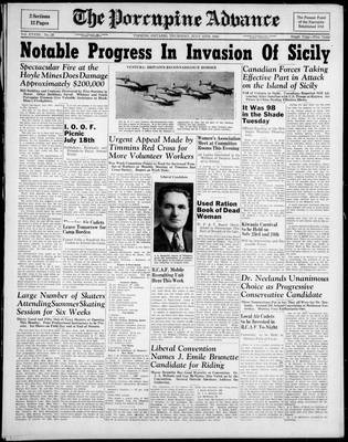 Porcupine Advance, 15 Jul 1943