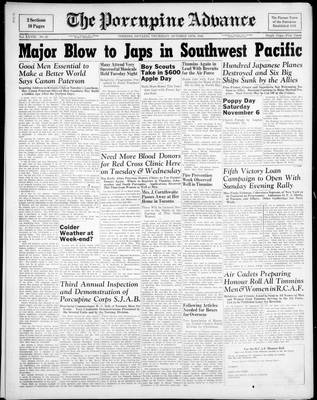 Porcupine Advance, 14 Oct 1943