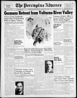 Porcupine Advance, 21 Oct 1943