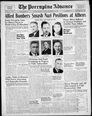 Porcupine Advance, 16 Dec 1943