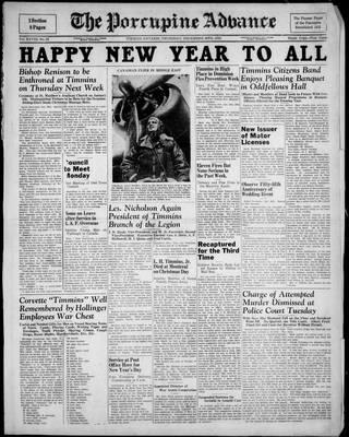 Porcupine Advance, 30 Dec 1943