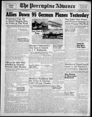 Porcupine Advance, 6 Jan 1944