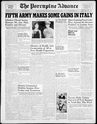 Porcupine Advance, 10 Feb 1944