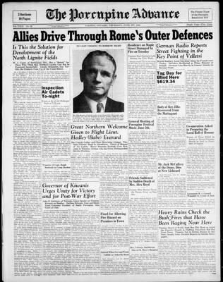 Porcupine Advance, 1 Jun 1944