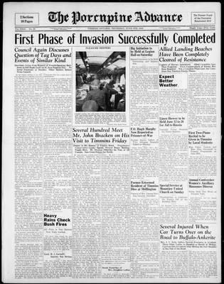Porcupine Advance, 8 Jun 1944
