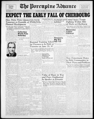Porcupine Advance, 22 Jun 1944