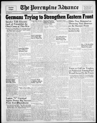 Porcupine Advance, 6 Jul 1944