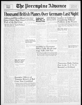 Porcupine Advance, 8 Feb 1945