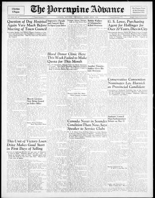 Porcupine Advance, 26 Apr 1945