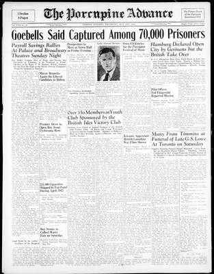 Porcupine Advance, 3 May 1945