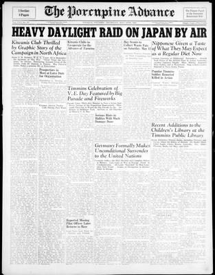 Porcupine Advance, 10 May 1945