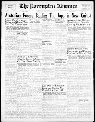 Porcupine Advance, 17 May 1945