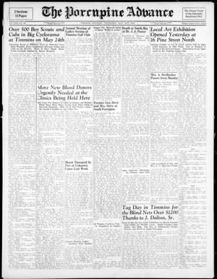 Porcupine Advance, 31 May 1945