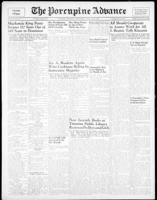 Porcupine Advance, 14 Jun 1945