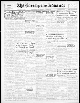 Porcupine Advance, 26 Jul 1945