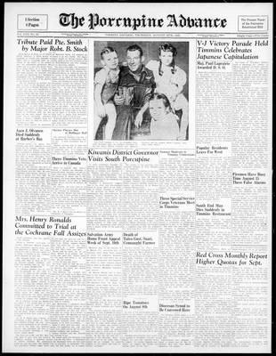 Porcupine Advance, 16 Aug 1945