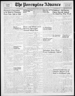 Porcupine Advance, 13 Sep 1945