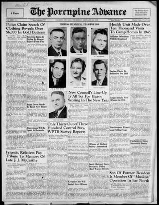 Porcupine Advance, 3 Jan 1946