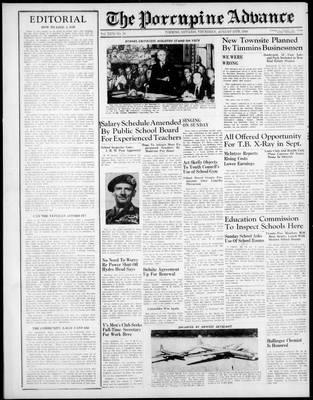 Porcupine Advance, 15 Aug 1946
