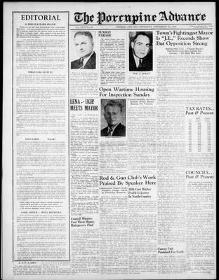Porcupine Advance, 7 Nov 1946