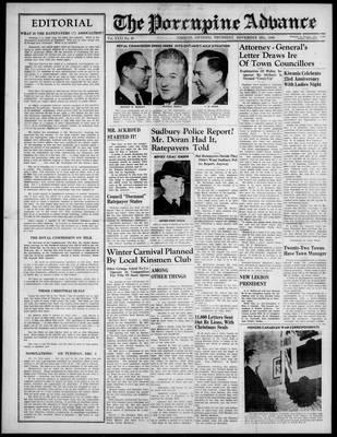 Porcupine Advance, 28 Nov 1946