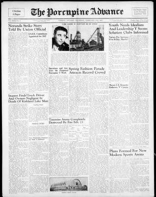 Porcupine Advance, 27 Feb 1947