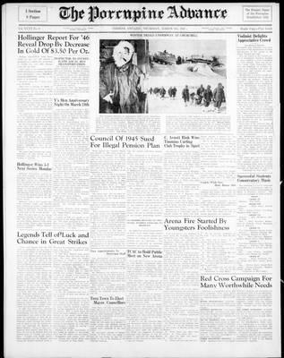 Porcupine Advance, 6 Mar 1947